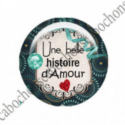 1 CABOCHON  résine Cabochons Rond 25mm  Ref 2753 Les Histoires....,fleurs ,Vert anis...., strass,diamant....Petits pois,fleurs  textes,écritures