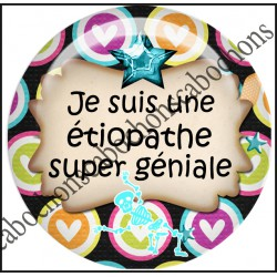 Cabochons Rond 25mm Etiopathe