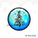 Cabochons Rond Noel, fêtes, cadeaux, christmas, xmas ref 15783