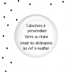 Cabochons Rond 25mm kiné
