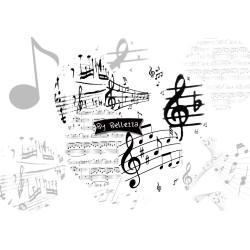 Images digitales Musique 30x40,18x25,13x18mm Parure ovales écritures,textes,messages ,images pour cabochons