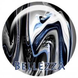 20mm VERRE, 2 Cabochon verre 20mm,  Ice design, psychedelique, geometrique, bleu et gris