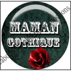 Cabochons  résine 25mm  Ref 11203Maman gothique ,textes,message Fashion,bellezza ,cabochon en résine ,bijou cabochon,25mm