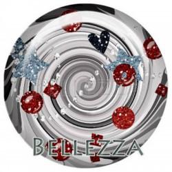 25mm verre,1 Cabochon verre 25mm, design, fashion, geometrique, tourbillon