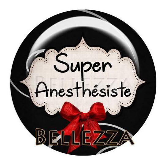 25mm RESINE ,1 Cabochon resine 25mm, Super anesthesiste