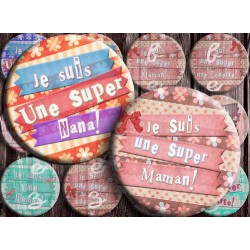 Images digitales 25, 20, 18 mm Textes love, A239 images pour cabochons