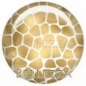 Cabochon resine 25mm, x 1 , gold, argent, animaux, safari