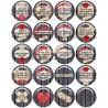 Cabochon résine 25mm, collection, gros lot, Thème Aide soignante