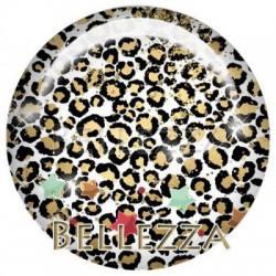Cabochon resine 25mm, x 1 , noel, bonne annee, festif, gold, or et noir