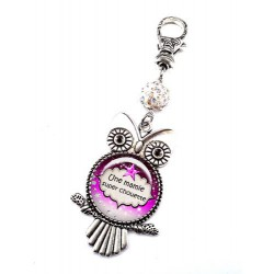 Bijoux de sac, porte clés, pompon, bijoux cabochon, une maman exceptionnelle