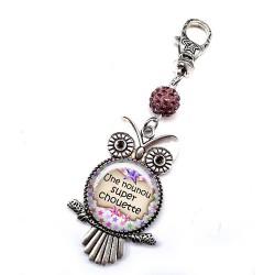 Bijoux de sac, porte clés, pompon, bijoux cabochon, nounou au top