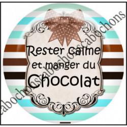 25mm RESINE,Cabochons  en résine 25mm  Ref 10433Chocolat,menthe,rayures,amour,love,gourmandise,j'aime..,cabochon en résine 25mm