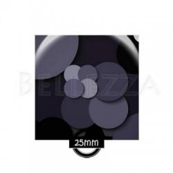 Cabochon verre carre 25mm, x 1, geometrique fashion, bleu marine et bordeaux