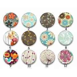 Cabochon par collection, fleurs, nature, 28580