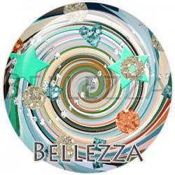 Cabochon verre, cabochon resine, fashion multicolore, bellezza fashion glitters
