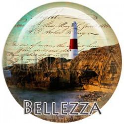 Cabochon verre, cabochon resine, phare, nautique, mer, marin