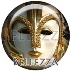 Cabochon verre, cabochon resine, carnaval, masque, mardi gras, événementiel