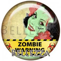 Cabochon verre, cabochon resine, pin'up, zombie, gothique