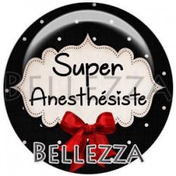 Cabochon verre, cabochon resine, anesthésiste, médical, santé