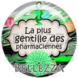 Cabochon verre, cabochon resine, pharmacienne, médical, santé
