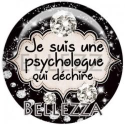 Cabochon verre, cabochon resine, psychologue, médical, santé