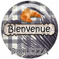 Cabochon verre, cabochon resine, boulangerie, boulanger, boulangère, métier
