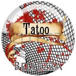 Cabochon verre, cabochon resine, tatoueuse, tatoueur, métier