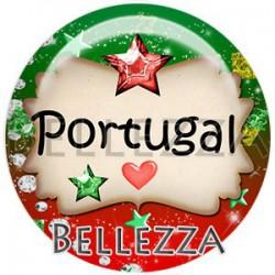 Cabochon verre, cabochon resine, portugal, pays