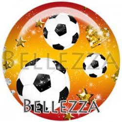 Cabochon verre, cabochon resine, football, foot, sport