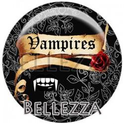 Cabochon verre, cabochon resine, vampire, gothique