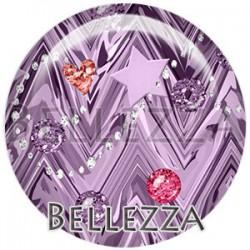 Cabochon verre, cabochon resine, illustration, geométrique, bellezza fashion glitters