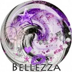 Cabochon verre, cabochon resine, Bellezza fashion glitters
