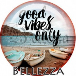 Cabochon verre, cabochon resine, vacances, soleil, plage ,mer, été, nautique