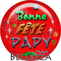Cabochon verre, cabochon resine, papy, fête des papys, bonne fête, famille