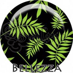 Cabochon verre, cabochon resine, feuilles, nature, arbre