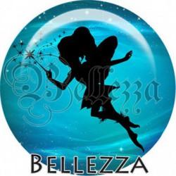 Cabochon verre, cabochon resine, fée, fairy, fantasy