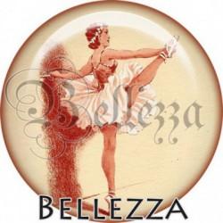 Cabochon verre, cabochon resine, danse, danseuse, sport