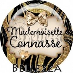 Cabochon verre, cabochon resine, mademoiselle connasse, texte fantasque fashion