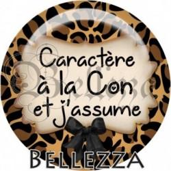 Cabochon verre, cabochon resine, texte fantasque, fashion