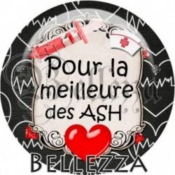 Cabochon verre, cabochon resine, ash, médical