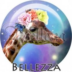 Cabochon verre, cabochon resine, animaux, couronne fleurs