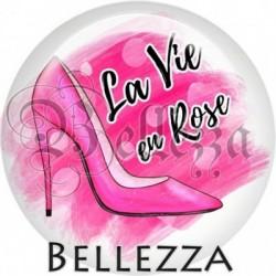 Cabochon verre, cabochon resine, chaussures, escarpins, fashion, sexy, la vie en rose