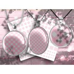 Images digitales rétro polka, images pour cabochon à imprimer, 30, 25, 20,18,12, 30x40, 18x25, 13x18mm