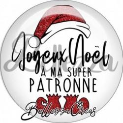 Cabochon verre, cabochon resine, joyeux noel, fêtes, cadeaux à personnaliser