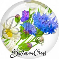 Cabochon verre, cabochon resine, fleur, nature, printemps