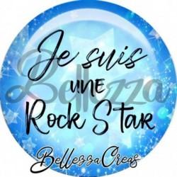 Cabochon verre, cabochon resine, citation, texte, fantasque, girly, fashion